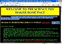 science toy maker website
