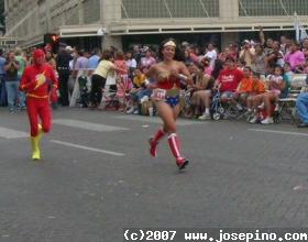 Flash and Wonder Woman