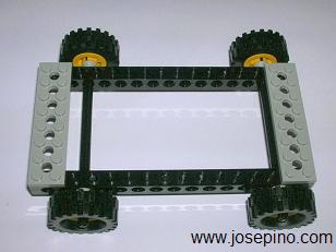 simple Lego frame