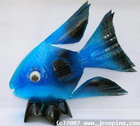 Can You Believe This Nice Craft Was Made From Trash It A Simple Plastic Bottle Now Is Transformed To An Awesome Piece Of Art Or Decoration