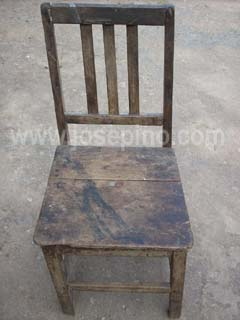 Antique Caoba Chair