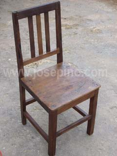 restored caoba Chair