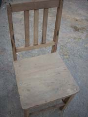restoring antique chair